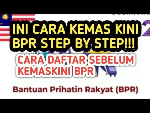 Cara Kemaskini Bantuan Prihatin Rakyat 2021 Step By Step!!!