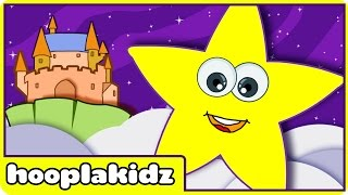 Twinkle Twinkle Little Star | Nursery Rhymes For Kids By Hooplakidz