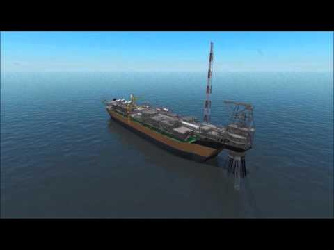 MODEC FPSO PSVM - Animation