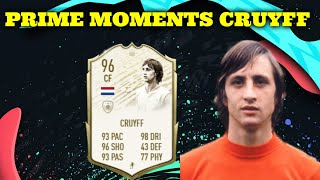 PRIME MOMENTS CRUYFF JE NEUVĚŘITELNEJ |FIFA 20 ULTIMATE TEAM|