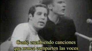 SIMON AND GARFUNKEL - SOUND OF SILENCE (subtitulado)