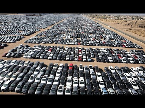 MILLIONS OF CARS ARE ROTTING IN THE OPEN AIR!