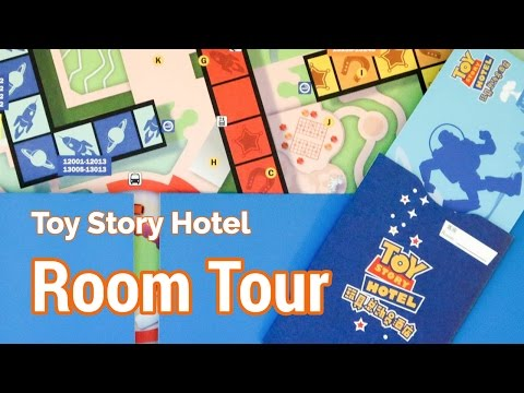 Toy Story Hotel Room Tour at Shanghai Disneyland