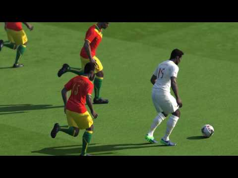 PES 2017 Senegal vs Guinea-Bissau - Africa Cup of Nations - Qualification