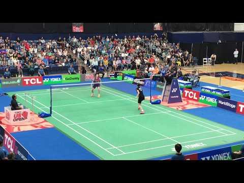 2019 US OPEN Badminton Final WS MS WD MD