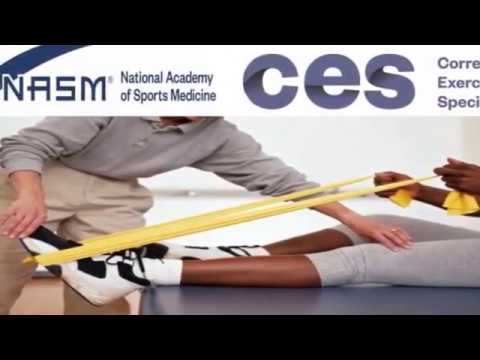 Corrective Exercise Specialist Certification (NASM-CES) - YouTube