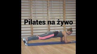 PILATES na żywo Paula Piotrzkowska Trening Fitness