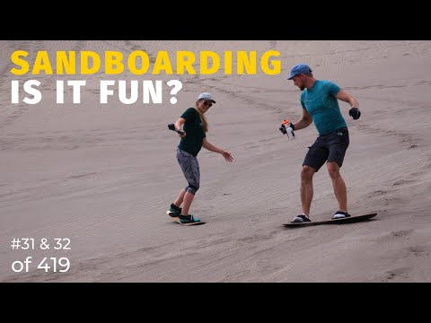 Great Sand Dunes National Park and Preserve: Is Sandboarding as fun as it seems? (31 & 32 of 419)