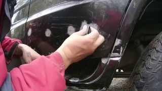 видео Восстановление лакокрасочного покрытия