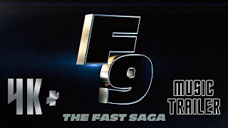 F9: FAST AND FURIOUS 9 (2021) Trailer 4 Music Only Version Ft. The Chainsmokers, Kygo, Migos, Kanye