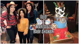 LUIS & MARISOL'S BABY SHOWER!