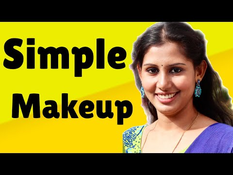 ഒരു നല്ല VALENTINES DAY LOOK |10 min makeup products| maybelline|mac cosmetics|cosmetic products thumbnail