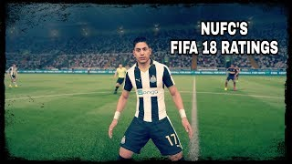 Fifa 18 player ratings   newcastle united