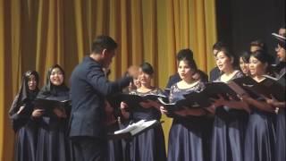 Telkom University Choir - Zikr (A.R. Rahman, arr. Ethan Sperry) | 8th BCF 2017