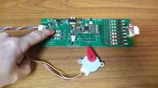 ПЛК CANNY 7: Управление биполярным шаговым двигателем / PLC CANNY 7: Bipolar stepper motor control