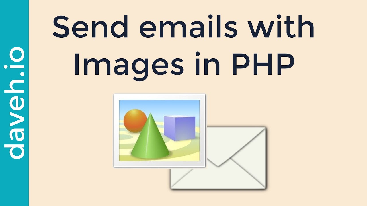 Send emails Containing Images using PHPMailer - YouTube