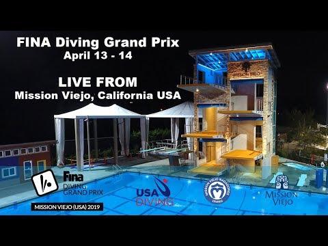 United States FINA Diving Grand Prix - Saturday 4-13-2019