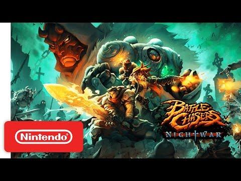 Battle Chasers: Nightwar – Nintendo Switch Reveal Trailer