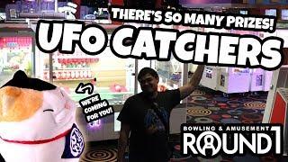 Video SO MANY PRIZES! Winning BIG on UFO Catchers at Round 1 Arcade! download MP3, 3GP, MP4, WEBM, AVI, FLV Agustus 2018
