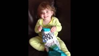 Ava Baby Loves Her Salt & Vinegar Cape Cod Potato Chips