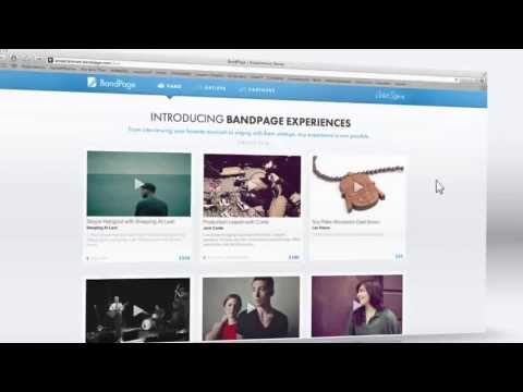 Introducing BandPage Experiences - A New Form of Fan Engagement