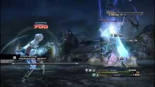 Final Fantasy XIII PC Gameplay-Odin Boss fight