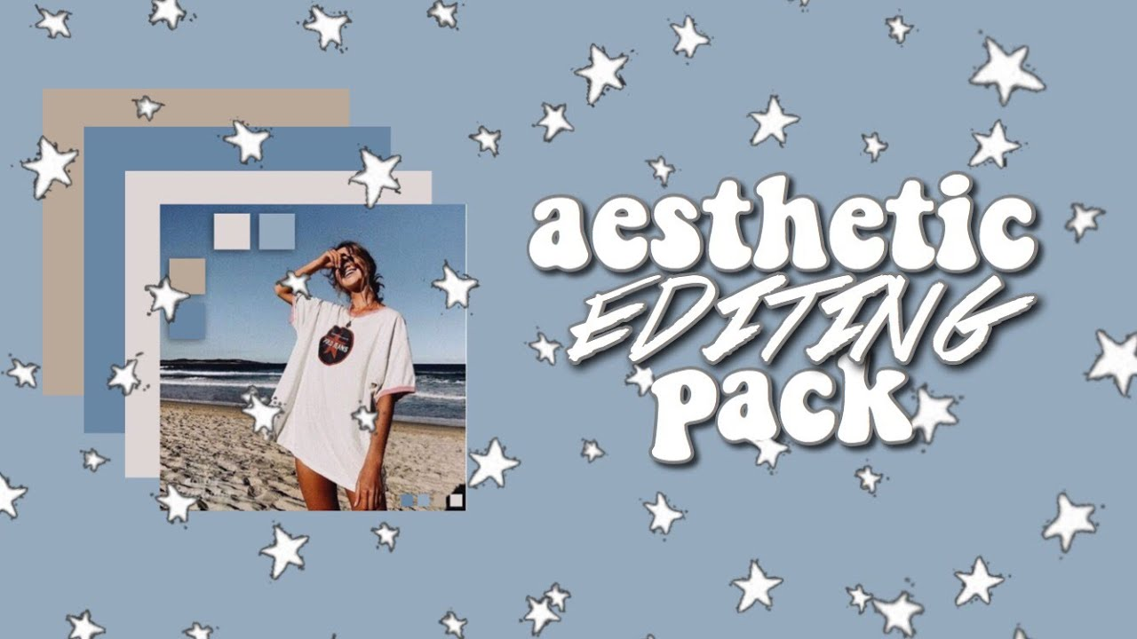 aesthetic editing pack 2018 | music, fonts, greenscreens, presets & more!!