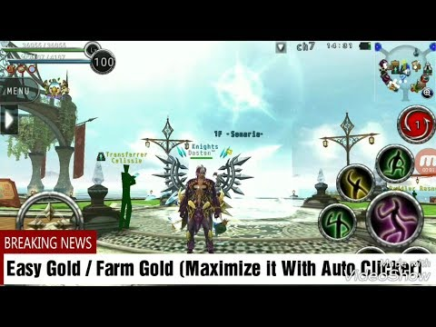 Avabel Online : Gold Farm / Easy Gold Tutorial Using Auto Clicker