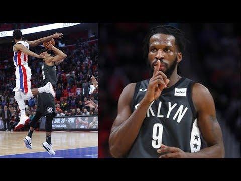 Spencer Dinwiddie Game Winner vs Pistons! 2017-18 Season