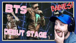 BTS Debut Stage (We are bulletproof PT.2 & No more dream) Reaction   WHO IS THAT?!?