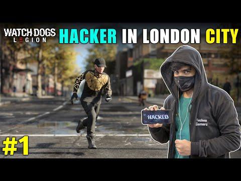 HACKER IN LONDON CITY   WATCH DOGS LEGION GAMEPLAY #1