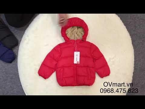 Áo Khoác Phao Có Mũ Siêu Nhẹ Siêu ấm Cho Bé - AK191 - Quần áo Trẻ Em