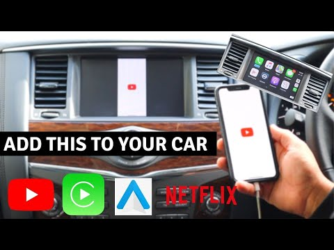 How To ACTUALLY Add CarPlay/Android Auto To Any Car (With NETFLIX And YOUTUBE)