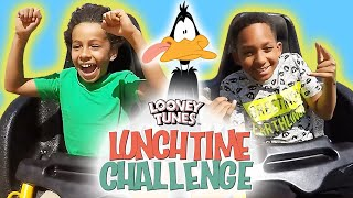 Six Flags Scavenger Hunt | Looney Tunes Lunchtime Challenge | WB Kids