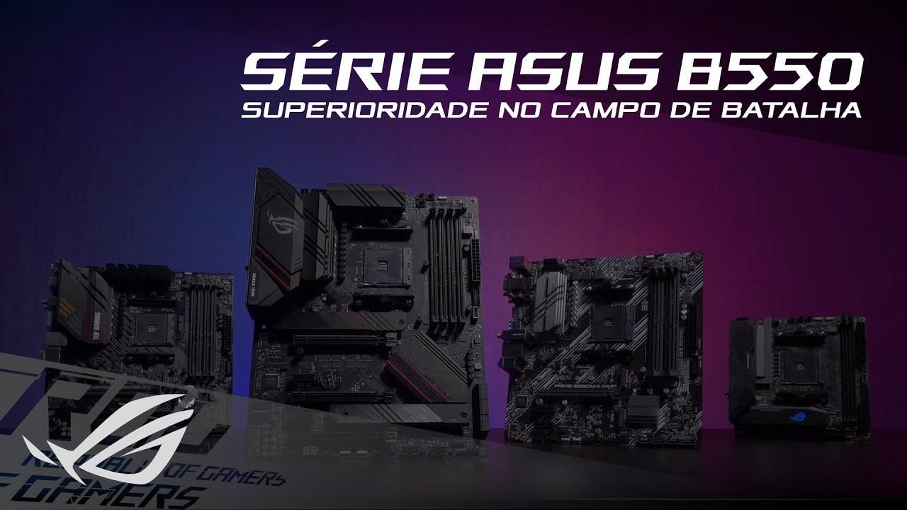Se liga na linhas mais completa de placas-mãe AMD com chipset B550