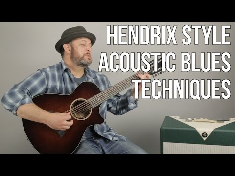 "Hendrix Style 12 String Blues Techniques a la ""Hear My Train a Comin'"""