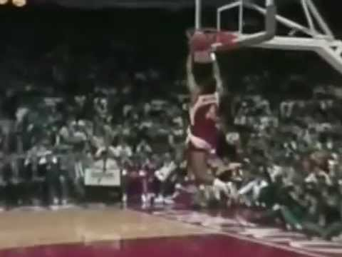 Spud Webb Two Handed Dunk 1988