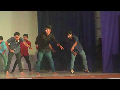 dance , alamb  calicut university hostel day