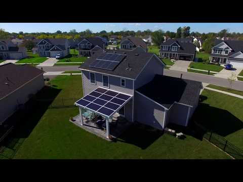 Solar Panel Pergola - Lancaster New York