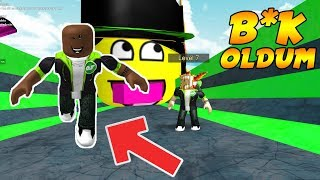 B*K BEING AND FALLING INTO THE TOILET / Roblox Get Eaten / Roblox English / Game Line