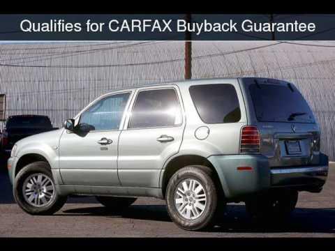 2007 Mercury Mariner Convenience Used Cars Burbank California 2017 08 10