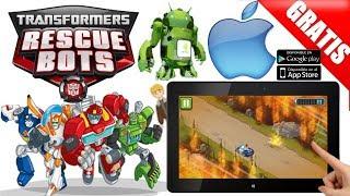 Dica de jogo Transformers Rescue Bots Android/ios trailer+gameplay DOWNLOADS Free/Gratis