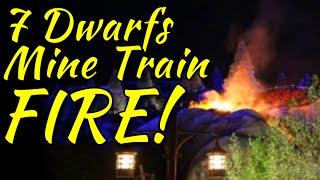 7 Dwarfs Mine Train Fire! [WDW News]
