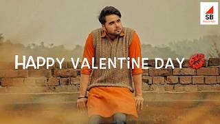 Aaj Din Valentine Da New WhatsApp Status Video 2018 PANJABI SONG STATUS || NINJA