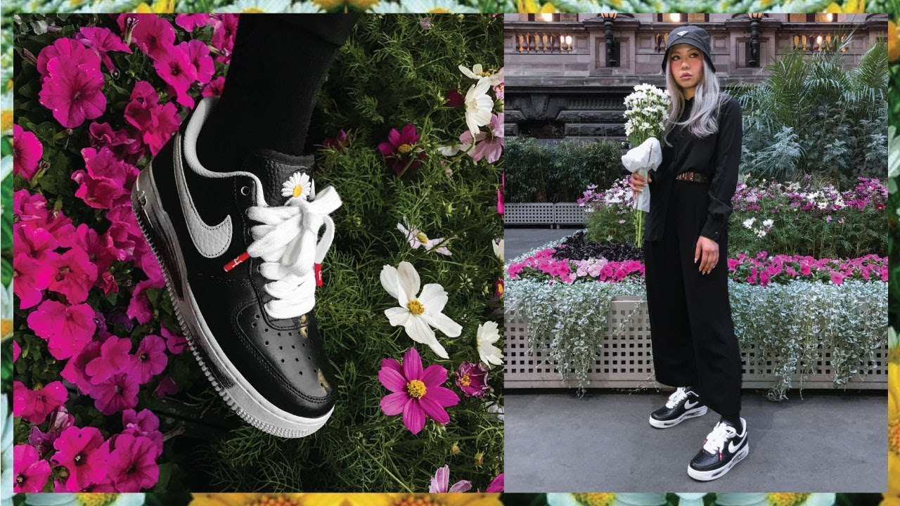 PEACEMINUSONE NIKE AIR FORCE 1 LOW G DRAGON REVIEW YouTube