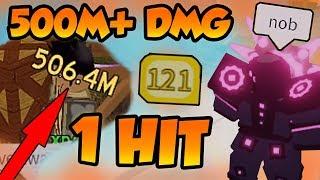 Hacer 500M+ daño en 1 golpe!!! - Roblox Dungeon Quest