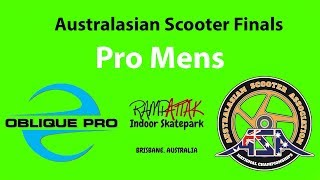 Billy Watts - ASA Australia Scooter Finals Pro Mens