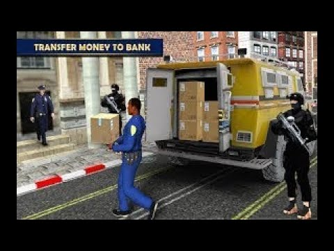 Real Bank Manager Cash Transport Truck Sim 2018 / Android Gameplay Hd
