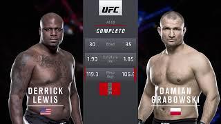 Derrick lewis vs  Damian grabowski en español