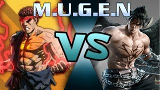 M.U.G.E.N Fully consumed Evil Ryu vs Devil Jin
